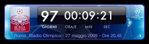 Screenshot widget Champions League 2009
