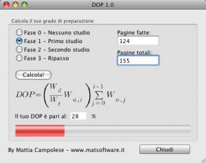 DOP v. 1.0 screenshot