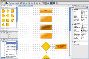 yEd - intefraccia grafica